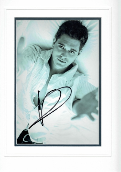 Michael Buble autograph