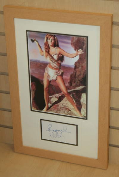 Raquel Welch signed & framed