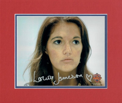 Louise Jameson Dr Who autograph