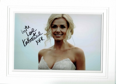Katherine Jenkins signed photo