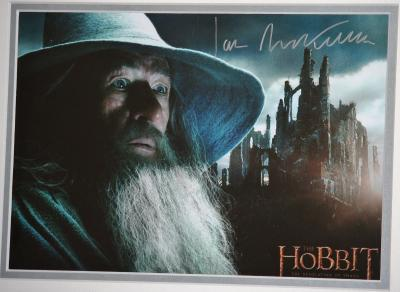 "Sir Ian McKellan ""The Hobbit"""