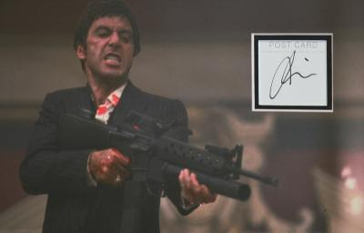 Al Pacino signed Scarface