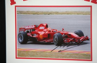 Michael Schumacher 12 x 8 photo
