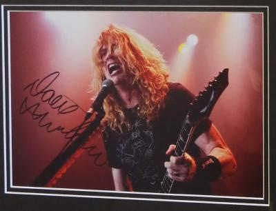Dave Mustaine Megadeth 12 x 8
