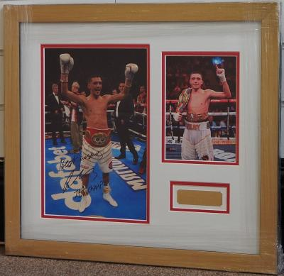 Lee Selby signed 12 x 8 photo