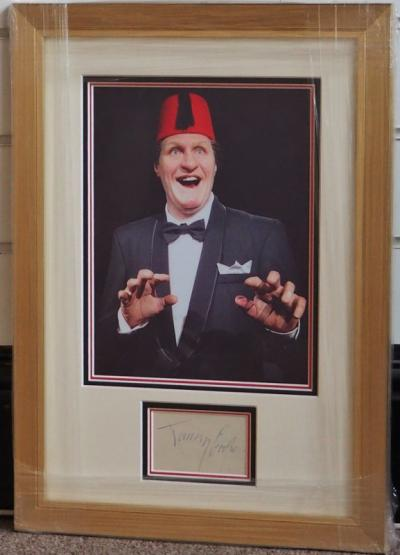 Tommy Cooper autograph