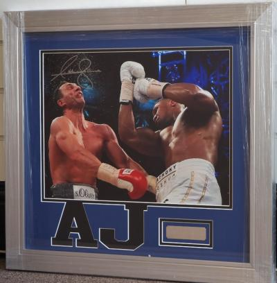 Anthony Joshua signed photo