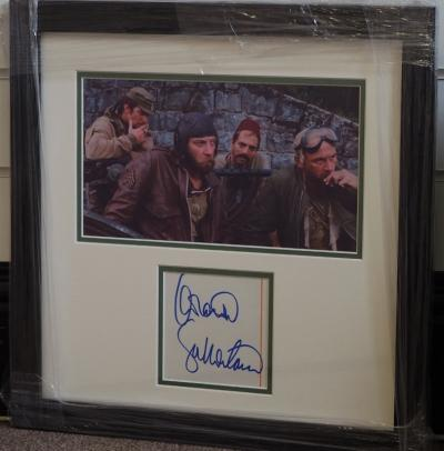 Hand signed Donald Sutherland