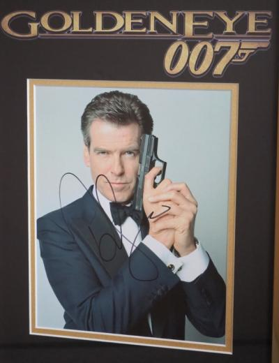 Pierce Brosnan as Bond