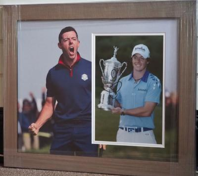 Rory McIlroy signed photo