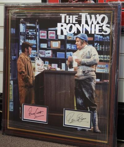 "The Two Ronnies ""Forkhandles"""