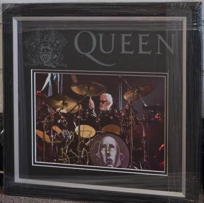 Queens' Roger Taylor signed