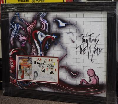 Gerald Scarfe The Wall artist
