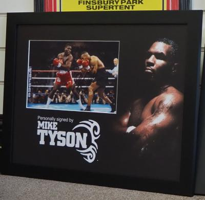 'Iron' Mike Tyson signed photo