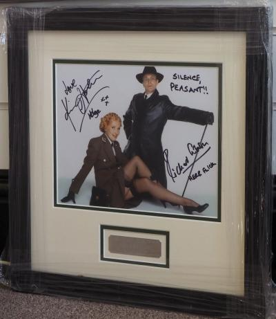 Allo Allo double signed display