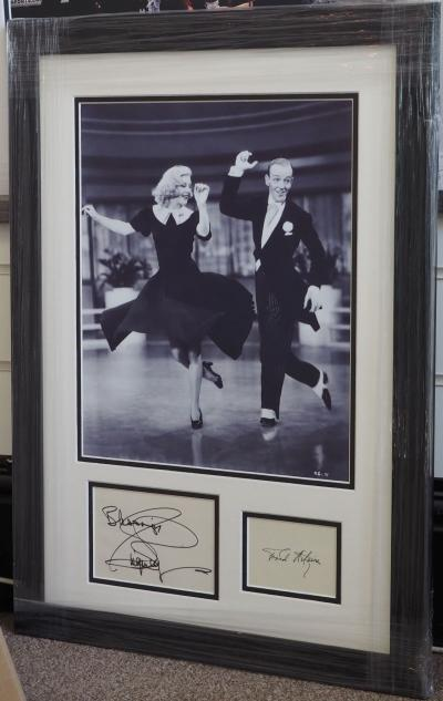 Fred & Ginger double signed