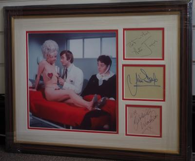 Carry on Doctor Again signatures